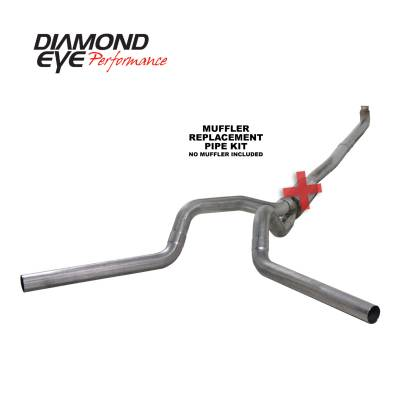 Exhaust Systems / Manifolds - Turbo Back Duals - Diamond Eye Performance - Diamond Eye Performance 2001-2007.5 CHEVY/GMC 6.6L DURAMAX 2500/3500 (ALL CAB AND BED LENGTHS) 4in. 409 K4116S-RP
