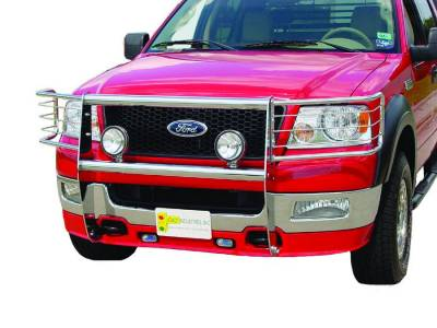 Exterior Accessories - Bumpers / Guards / Hooks - Go Industries - Go Industries Option for Knockdown Grille Guard 27636