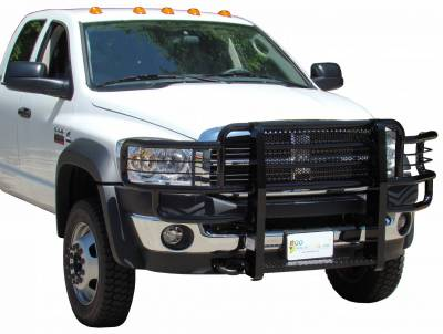 Exterior Accessories - Bumpers / Guards / Hooks - Go Industries - Go Industries Rancher Grille Guard 46665