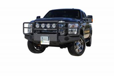 Exterior Accessories - Bumpers / Guards / Hooks - Go Industries - Go Industries Pro Series - Winch Style - Wrap Around 58645W