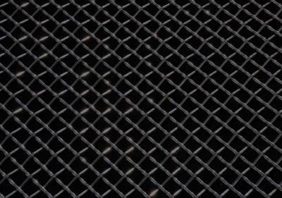 Exterior Accessories - Grilles - T-Rex - T-Rex Univ Black Mesh 12x42 51009