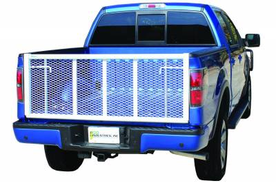 Exterior Accessories - Hoods / Tail Gates - Go Industries - Go Industries Straight Painted Tailgate 6636
