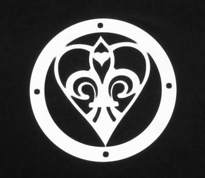 Exterior Accessories - Logos / Emblems - T-Rex - T-Rex Grill Logoz Heart L1006