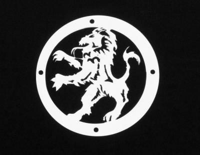 Exterior Accessories - Logos / Emblems - T-Rex - T-Rex Grill Logoz Lion L1015