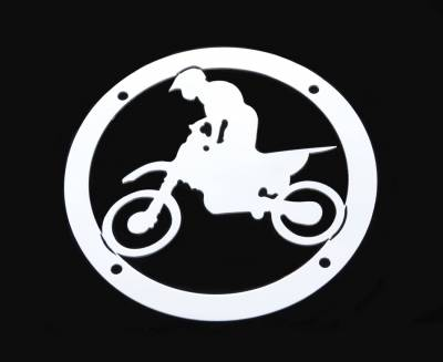 Exterior Accessories - Logos / Emblems - T-Rex - T-Rex Grill Logoz MX Bike L1002
