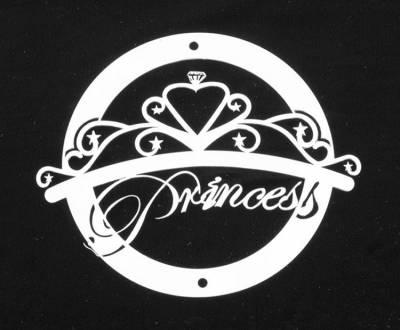 Exterior Accessories - Logos / Emblems - T-Rex - T-Rex Grill Logoz Princess L1005