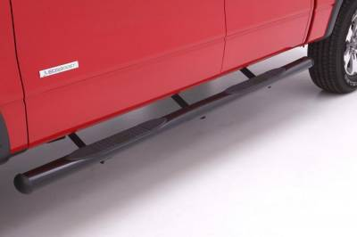 Exterior Accessories - Steps / Running Boards - LUND - LUND LUND - 4 In OVAL STRAIGHT STEEL 23691400