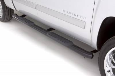 Exterior Accessories - Steps / Running Boards - LUND - LUND LUND - 5 In OVAL CURVED STEEL 23854007
