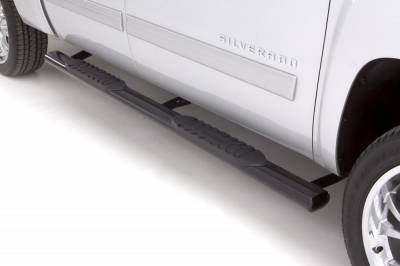 Exterior Accessories - Steps / Running Boards - LUND - LUND LUND - 5 In OVAL STRAIGHT STEEL 24076005