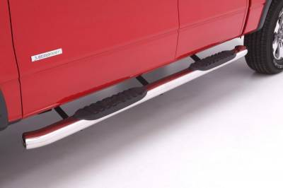 Exterior Accessories - Steps / Running Boards - LUND - LUND LUND - 5 In CURVED OVAL SS 23776075