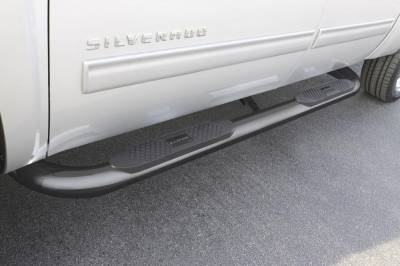 Exterior Accessories - Steps / Running Boards - LUND - LUND LUND - 4 In ROUND BENT STAINLESS STL 26296774