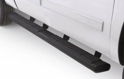 Exterior Accessories - Steps / Running Boards - LUND - LUND LUND - 6INCH-OVAL STRAIGHT BLACK 22268001
