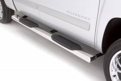 Exterior Accessories - Steps / Running Boards - LUND - LUND LUND - 6 In OVAL STRAIGHT SS 24378008