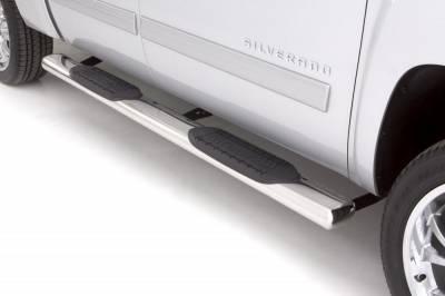 Exterior Accessories - Steps / Running Boards - LUND - LUND LUND - 6 In OVAL STRAIGHT SS 24385007