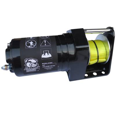 Exterior Accessories - Towing/Pulling & Cargo - Bulldog Winch - Bulldog Winch 2k600 Snow Plow Winch 15021