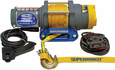 Superwinch - Superwinch WINCH-TERRA 25 SR, SYNTHETIC ROPE 1125230
