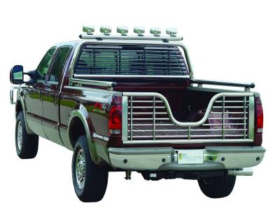 "Exterior Accessories - Towing/Pulling & Cargo - Go Industries - Go Industries Bed Rail 2.5"" Round Long Bed 532"