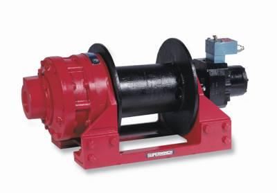 Superwinch - Superwinch WINCH-H25P W/MTR-PNEU F/S 5450B