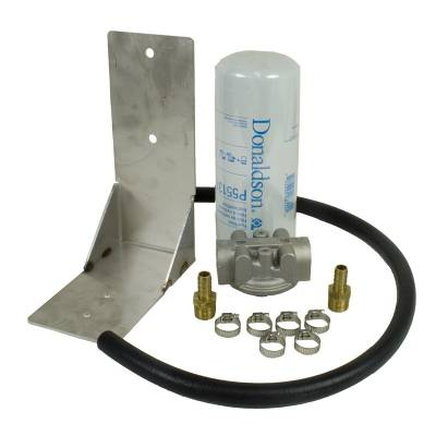 BD Diesel - BD Diesel Remote Fuel Filter Kit - 2001-2012 Chevy Duramax 1050060