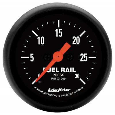 Gauges & Pods - AutoMeter - Auto Meter - Auto Meter Gauge; Rail Pressure (RAM 5.9L); 2 1/16in.; 30kpsi; Digital Stepper Motor; Z Ser 2686