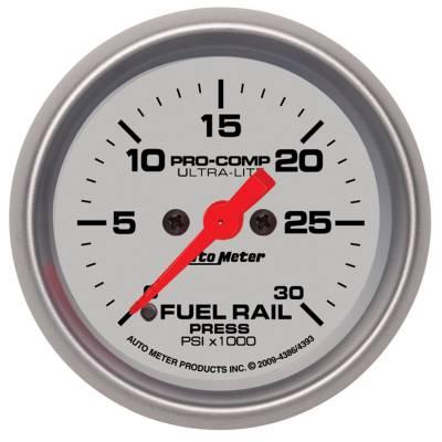 Auto Meter - Auto Meter Gauge; Rail Pressure (RAM 5.9L); 2 1/16in.; 30kpsi; Digital Stepper Motor; Ultra 4386 - Image 2