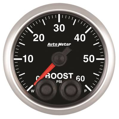 Gauges & Pods - IssPro - Auto Meter - Auto Meter 2-1/16in. BOOST; 0-60 PSI; COMP 5570
