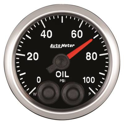 Gauges & Pods - IssPro - Auto Meter - Auto Meter 2-1/16in. OIL PRESS; 0-100 PSI; COMP 5552