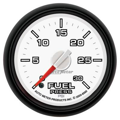 Gauges & Pods - IssPro - Auto Meter - Auto Meter Gauge; Fuel Press; 2 1/16in.; 30psi; Digital Stepper Motor; Ram Gen 3 Fact. Matc 8560