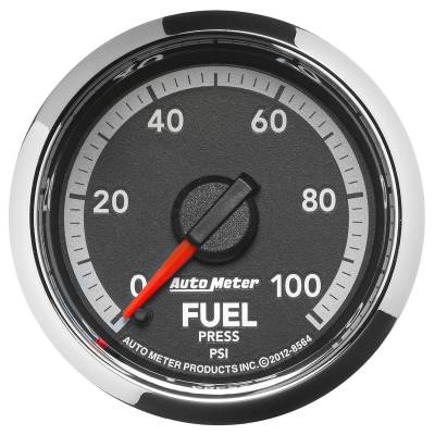 Auto Meter - Auto Meter Gauge; Fuel Press; 2 1/16in.; 100psi; Digital Stepper Motor; Ram Gen 4 Fact. Mat 8564 - Image 1