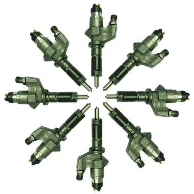 BD Diesel - BD Diesel Injector Set - Duramax LB7 2001-2004 - 160hp 1076603
