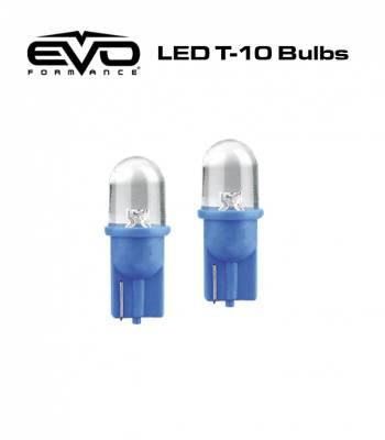 Cipa USA - Cipa USA EVO Formance T-10 LED Bulbs - Blue 93143