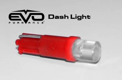 Cipa USA - Cipa USA EVO Formance LED T5 Bulb Dashboard Light- Red 93251