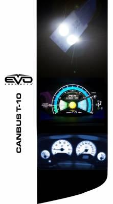Cipa USA - Cipa USA EVO Formance T-10 LED Bulbs With Canbus- White 93140