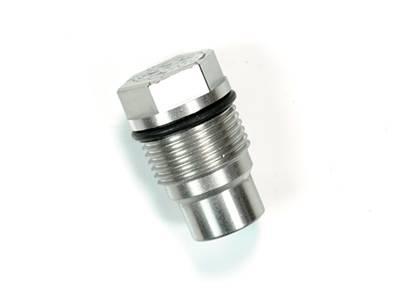 Lift Pumps & Fuel Systems - Fuel Sumps - Sinister Diesel - Sinister Diesel Sinister Diesel Fuel Rail Plug (Race Valve) SD-FRCVLV