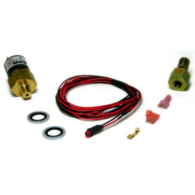 BD Diesel - BD Diesel Low Fuel Pressure Alarm Kit, Red LED - 1998-2007 Dodge 24-valve 1081130