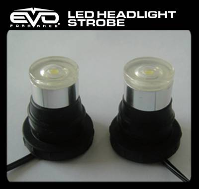 Cipa USA - Cipa USA EVO Formance LED Headlight Strobes - Red/Blue 93192