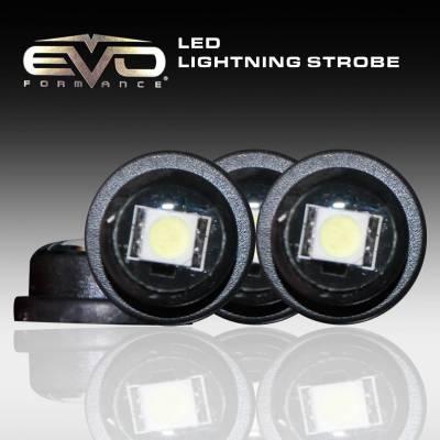 Cipa USA - Cipa USA EVO Formance LED Lightning Strobes  - Red/Blue 93197
