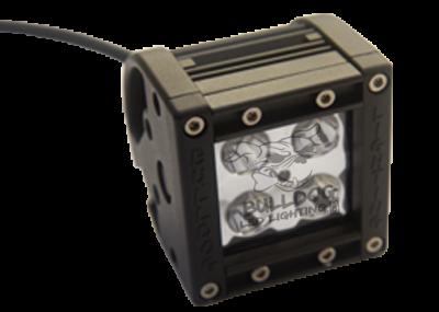 "Bulldog LED Lighting - Bulldog LED Lighting 2"" Bulldog Lighting Spike Light Bar - Double Row - Spot - Side Bolt Mount 21DRS-20050"