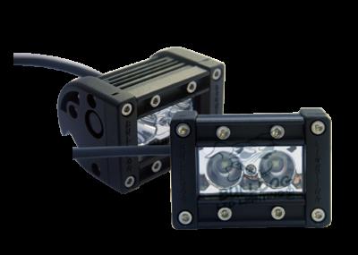 "Bulldog LED Lighting - Bulldog LED Lighting 2"" Bulldog Lighting Spike Light Bar - Set - Single Row - Spot - Side Bolt Mount 21SRSetS-20531"
