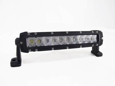 "Lighting - Off Road Lighting / Light Bars - Race Sport - Race Sport 10""  Single Row CREE SPOT Light Bar 50W/5,000LM RS-HD-SR10"