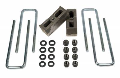 Suspension - Leaf Springs - Tuff Country - Tuff Country BLOCK KIT-CHEVY/GMC 01-09 2500HD 2IN. 97022