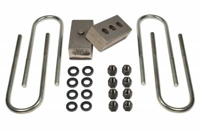 Suspension - Leaf Springs - Tuff Country - Tuff Country BLOCK KIT-DODGE RAM 2500/3500 (W/3.5IN. AXLE) 2IN. 97048