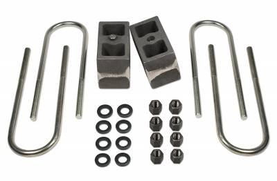Tuff Country - Tuff Country BLOCK KIT-FORD F250/F350 99-2012 4IN. NON-TAPERED W/FACTORY CONTACT OVERLOADS 97062