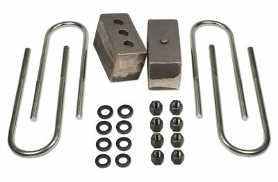 Tuff Country - Tuff Country BLOCK KIT-DODGE RAM 2500/3500 (W/3.5IN. AXLE) 4IN. 97049