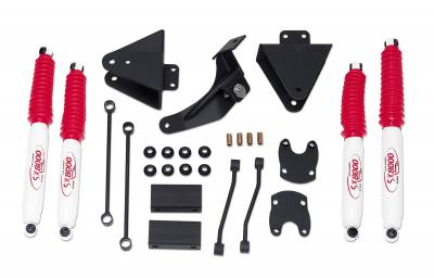 Suspension - Lift Kits - Tuff Country - Tuff Country COMPLETE KIT (W/SX8000 SHOCKS) FORD F250/F350 3IN. 23955KN