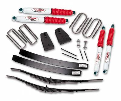Suspension - Lift Kits - Tuff Country - Tuff Country COMPLETE KIT (W/SX8000 SHOCKS) FORD F250 2.5IN. 22821KN