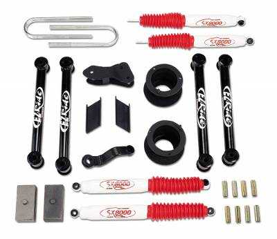 Suspension - Lift Kits - Tuff Country - Tuff Country COMPLETE KIT (W/SX8000 SHOCKS) DODGE RAM 6IN. 36021KN