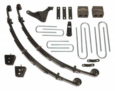 Suspension - Lift Kits - Tuff Country - Tuff Country COMPLETE KIT (W/O SHOCKS) FORD F250/F350 4IN. 24955K