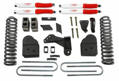 Suspension - Lift Kits - Tuff Country - Tuff Country COMPLETE KIT (W/SX8000 SHOCKS) FORD F250/F350 5IN. 25975KN