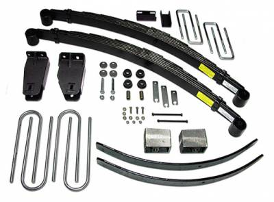 Suspension - Lift Kits - Tuff Country - Tuff Country COMPLETE KIT (W/O SHOCKS) FORD F250 4IN. 24821K
